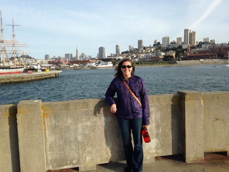 Johanna Levene, aka Afthead in San Francisco