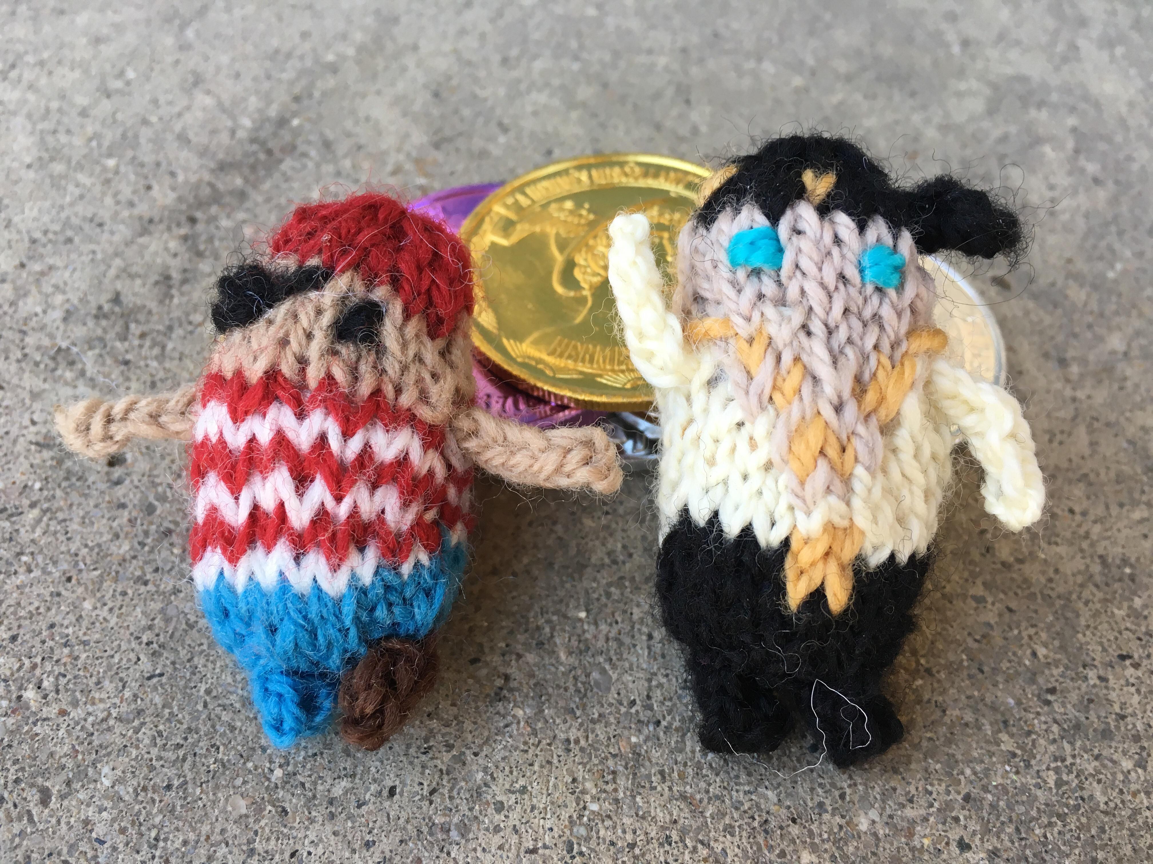 Tiny Knit Pirates Afthead